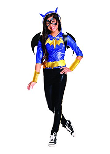 (Rubie's Costume Kids DC Superhero Girls Deluxe Batgirl Costume,)