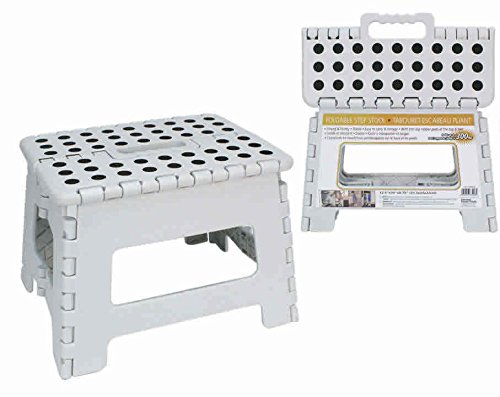 Heavy Duty Foldable Step Stool by H.E.