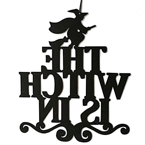 discountstore145 Halloween Hanging Decoration,The Witch is in Halloween