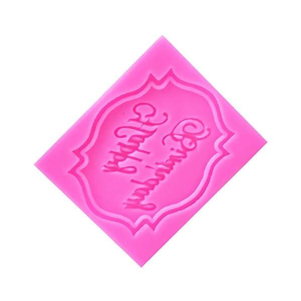 MOPKJH stampi Silicone Natalizi stampi in Silicone Natalizi Stampo di Natale Creativo Esclusivo Stampo Natalizio Stampo… 6 spesavip