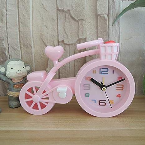 Blinkle bicicletta orologio sveglia cartoni animati scrivania