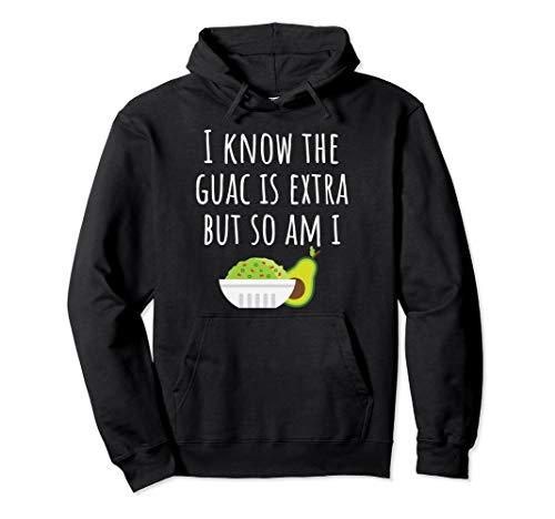 Guacamole Avocado Dip Funny Mexican Cinco De Mayo Hoodie ()