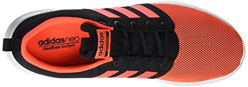 Adidas Cloudfoam Swift Racer, Scarpe da Ginnastica Uomo, Nero (Negbas/Rojsol/Ftwbla), 49 EU
