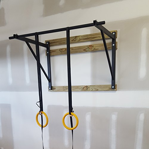 Titan Fitness Wall Mounted Pull Up Chin Up Bar Cross Fit