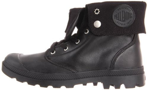Stivale In Pelle Baggy Mens Baggy Nero