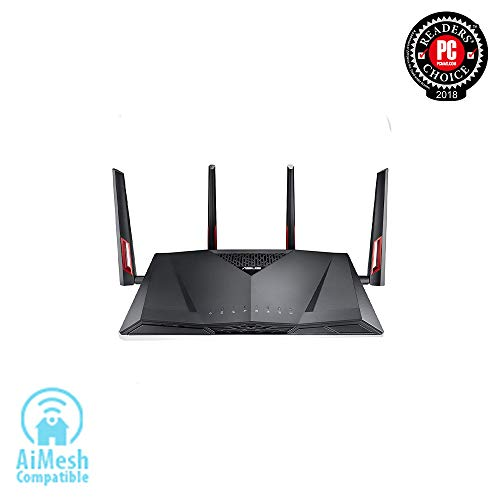 ASUS Wireless AC3100 Dual-Band Gigabit Router, AiProtection