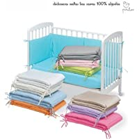 Pirulos 43300004 - Protector para cuna, algodón, color