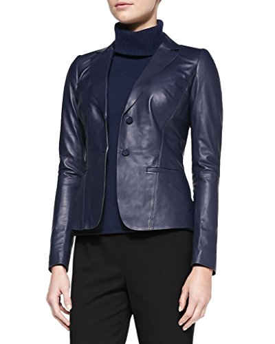 Silversoft Womens Lambskin Leather Coat