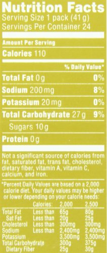 PowerBar Performance Energy Power Gel, Gluten Free Berry Blast, 1x Caffeine, 1.44-Ounce Packets (Pack of 24)