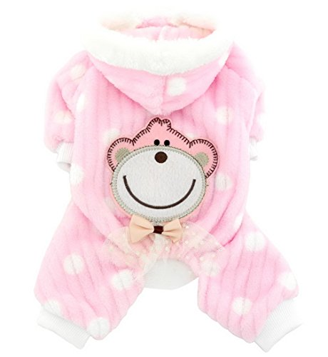 Stores Hong Toy Kong (smalllee_lucky_store Soft Velvet Cute Monkey Sweaters, Pink, Large)