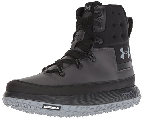 (Under Armour Men's Fat Tire Govie Hiking Boot, Charcoal (100)/Black, 11)