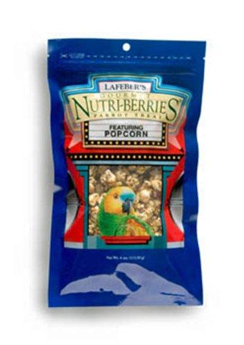 Lafeber's Popcorn Nutri-Berries for Parrots 4 oz bag, My Pet Supplies