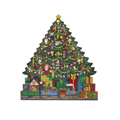 Byers' Choice Christmas Tree Advent Calendar #AC02