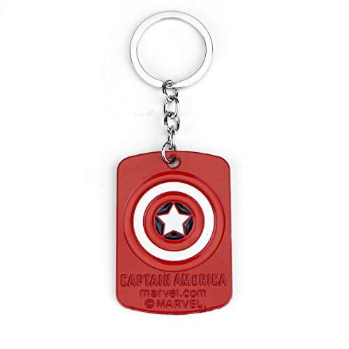 Amazon.com | The Avengers Captain Marvel/America Key Chains ...