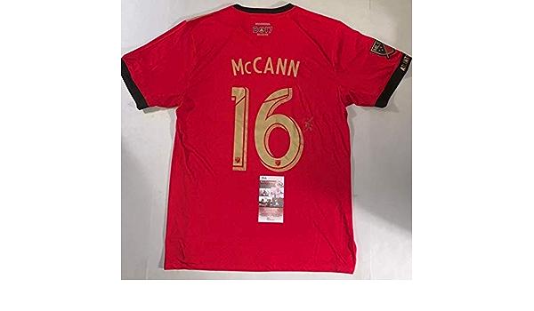 Chris McCann signed Atlanta United FC Jersey autographed MLS JSA ...