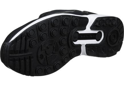 Zx Adidas Scarpa Flux black white Black U8q8rd
