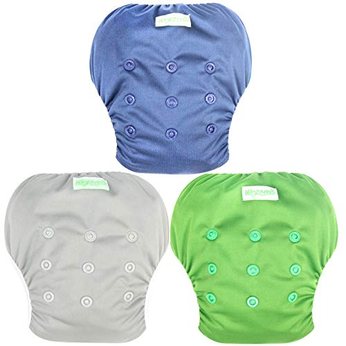 52b4472b2a Wegreeco Baby & Toddler Snap One Size Reusable Baby Swim Diaper  (Navy,Small,3 Pack) - Buy Online in Oman. | Baby Products Products in Oman  - See Prices, ...