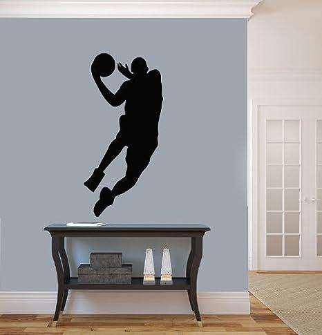 Amazon.com: HOUSEWARES – Vinilo Jugador de baloncesto ...