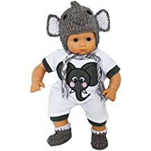 """My Brittany's """"I'm a Little Elephant"""" Outfit for Bitty Baby and Bitty Twins Dolls- 15 Inch Baby Doll Clothes"""