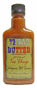 Texas Butter Tex'chup Hot Sauce 8 Ounce