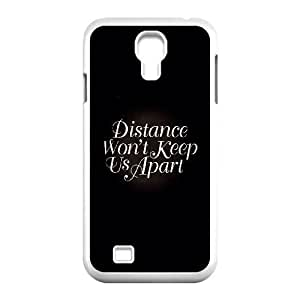 Samsung Galaxy S4 9500 Cell Phone Case White distance wont keep us apart SUX_865018