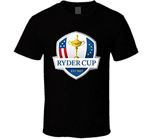 - Perfect Fit T Shirts Ryder Cup Golf Golfing Black T Shirt L Black
