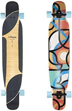 Loaded Boards Bhangra Bamboo Longboard Skateboard Complete
