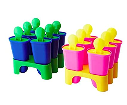 CHOSIGT Ice Lolly Maker Assorted Colours Multiple Colours