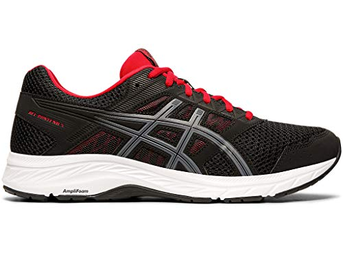 ASICS Men's Gel-Contend 5 Running Shoes, 11.5M, Black/Metropolis