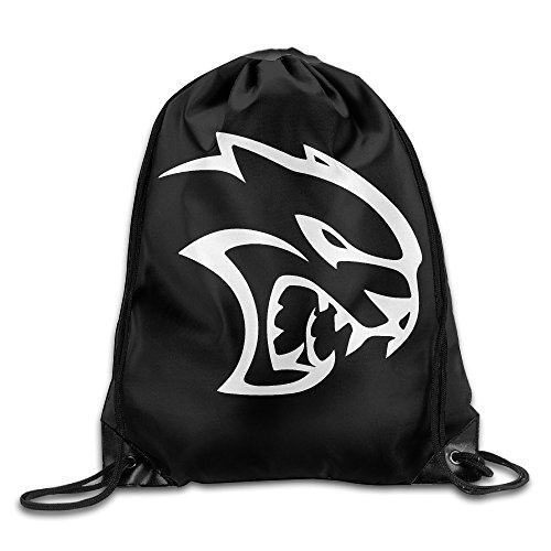 Price comparison product image Srt Classic Hellcat Roar Face Drawstring Bag, drawstring Backpack, sport Bag White One Size