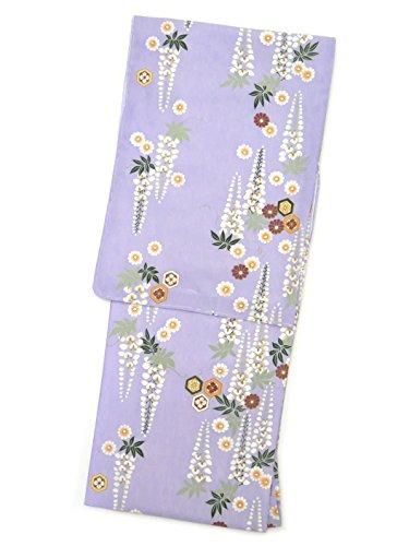 急襲ジャンル番目洗える着物 袷 小紋 TLサイズ RKブランドの着物 「薄紫 菊と藤」RKATL2410