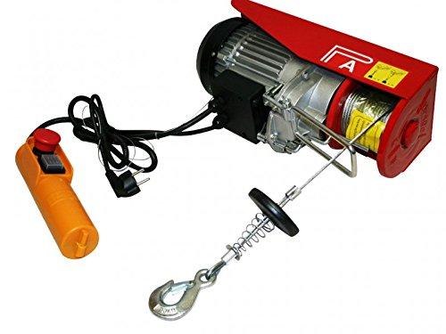 Varan Motors var-PA800M 800KG ELECTRIC POWER HOIST WINCH LIFT GARAGE MOTOR LIFT 230V 1300W CABLE 12M