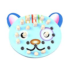 *Description: *To improve baby's three-dimensional imagination, colcognitive ability and stimulate. *First looked invites the color,and disrupts in the checkerboard,shoots the color which. *Great gift idea for Baby shower, Birthdays,Christmas...