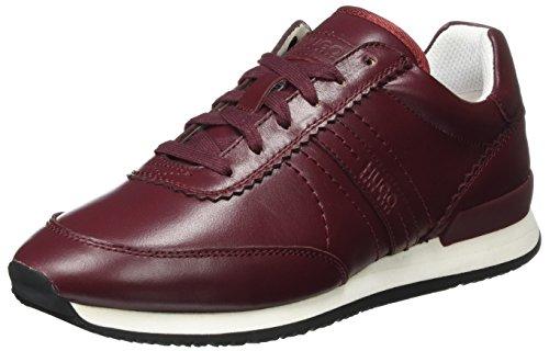 HUGO Damen Adrienne-c 10202344 01 Sneaker Rot (Dark Red)