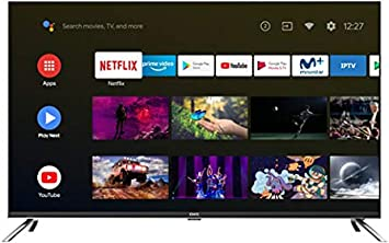 TV EVVO CHIQ 55UHD Android TV UHD 4K HDR10 Chromecast Incluido Sonido Dolby 55