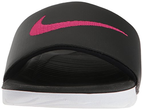Nike Kawa Slide Women Sandalen Nikeletten Sandals Black Black White 015