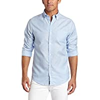 Lee Uniforms Men's Long-Sleeve Oxford Shirt