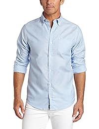 Lee uniformes para hombre camisa de Oxford de manga