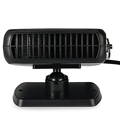 CARWORD Hot 150W 12V Car Parking Heater Electric Heating Cooling 2 in 1 Fan Portable Auto Dryer Heated Windshield Defroster Demister