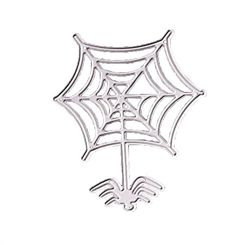 Happy Halloween Metal Cutting Dies Stencils Scrapbooking Embossing DIY Crafts]()