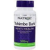 Yohimbe Bark - 500 mg, 90 Capsules