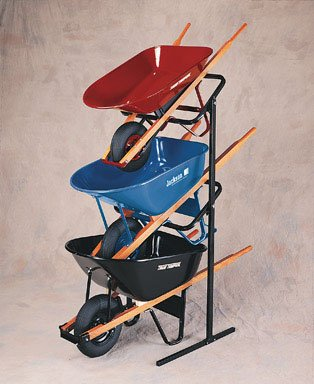 Ames True Temper Wheelbarrow Display Rack by Jackson Professional Tools