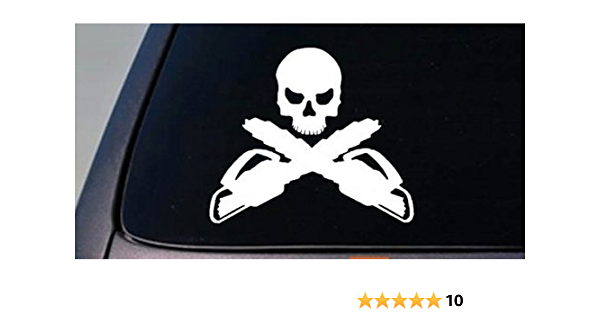 TREE GUY Decal parking arborist forester landscaper chainsaw chipper