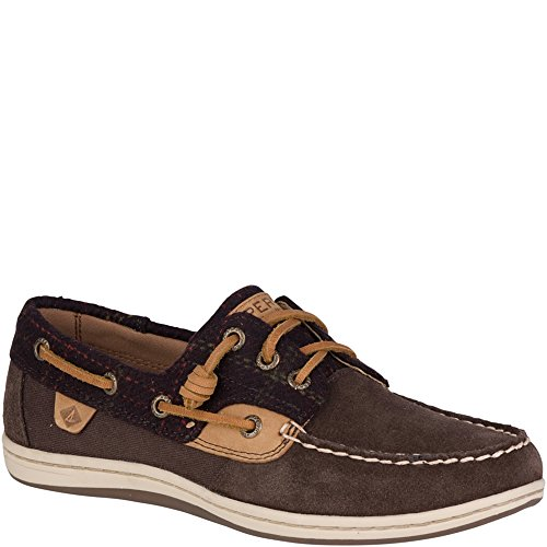 Sperry Top-Sider Songfish Suede Boat Shoe (Suede Deck Shoes)