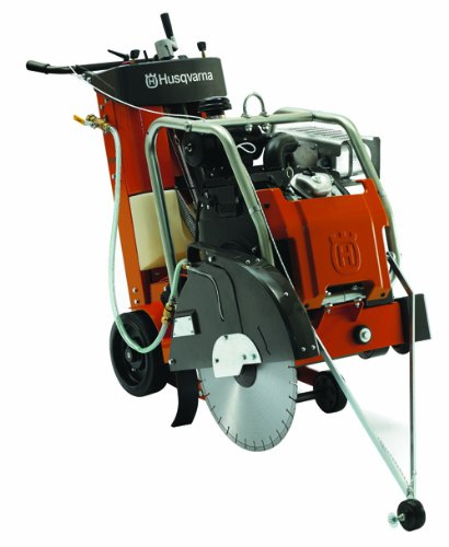 Husqvarna 965150214 Self-Propelled Concrete Saw with 20.8 HP Honda Engine and 24-Inch Maximum Blade (Self Propelled Saw)