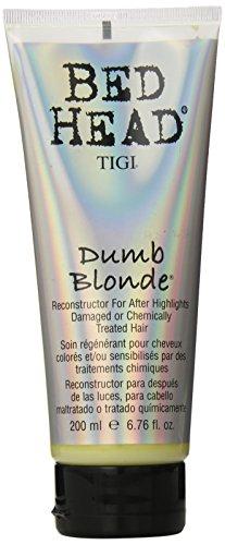 TIGI Bed Head Dumb Blonde Reconstructor Conditioner 6.76 oz (Shampoo Dumb Head Blonde Tigi Bed)