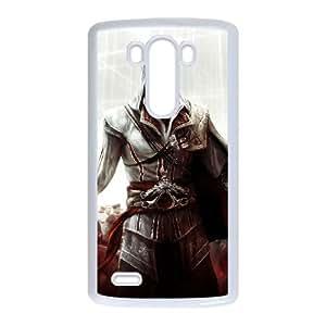 Ezio Auditore da Firenze LG G3 Cell Phone Case White Protect your phone BVS_713539