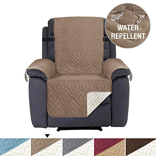 H.VERSAILTEX Slip-Resistant Sofa Recliner Cover Recliner Slipcover Furniture Protector, Seat Width Up to 22