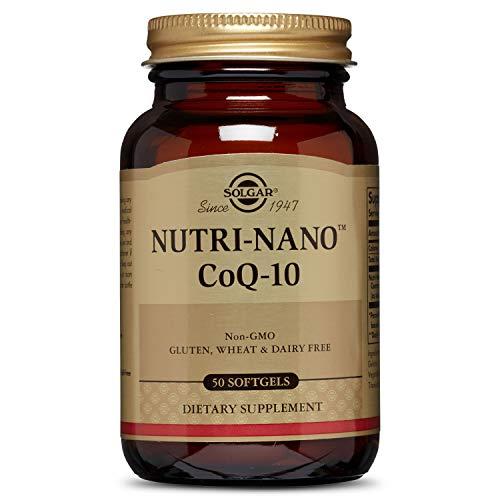 Solgar Nutri-Nano CoQ-10 3.1 X Supplement, 50 Count