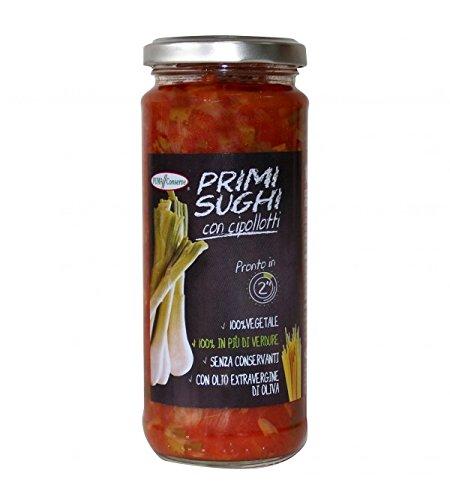Puma Conserve - Salsa de tomate casera con brotes de cebolla 320gr: Amazon.es: Alimentación y bebidas